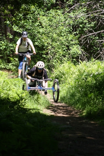 Vermont Adaptive Ski and Sports mountain biking program