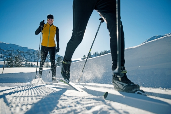 Cross country ski season summary for winter 2016-17