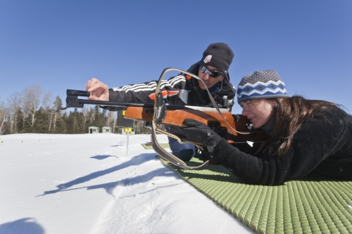 Taking aim at the Olympic Sports Complex in Lake Placid