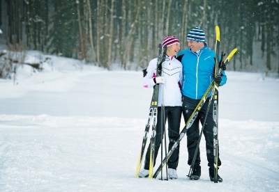 Male XC skiers outnumber female XC skiers 61% to 38%.