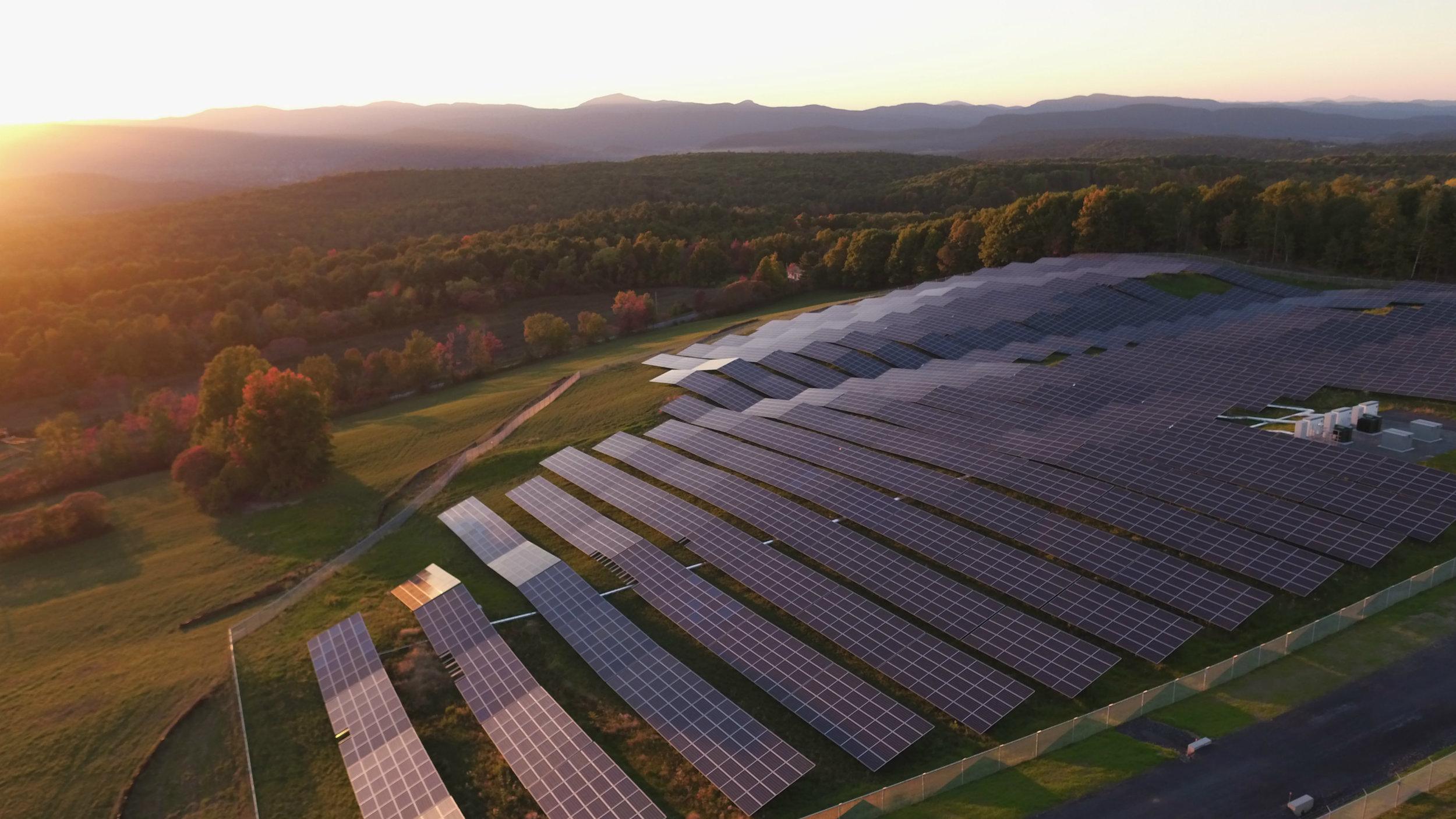 Gore Mountain's new solar array