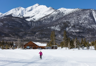 Frisco Nordic Center with views in every direction