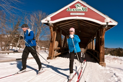 Jackson Ski Touring Center like many other ski areas has programs to bring skiers together