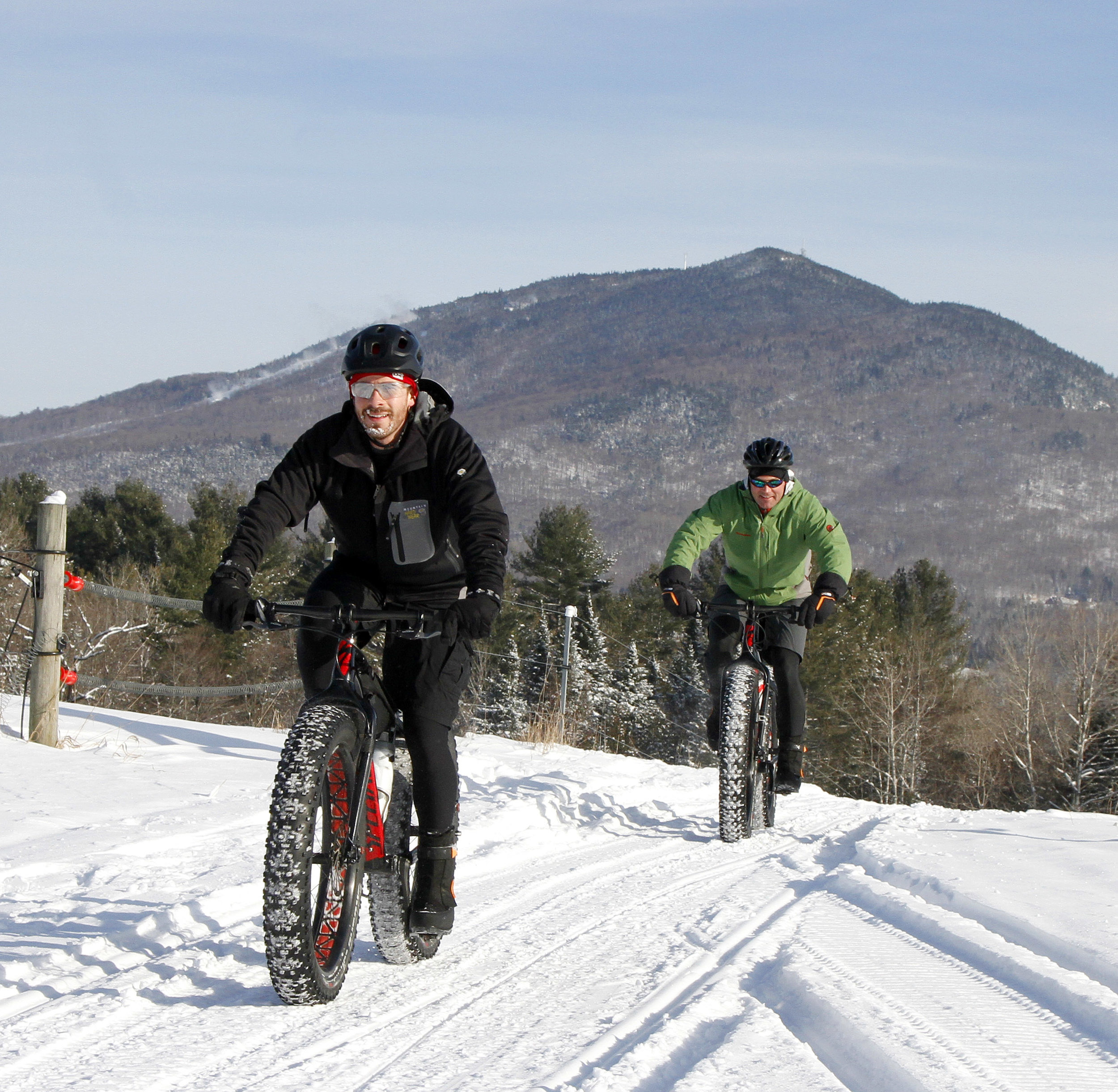 Kingdom Trails in Vermont attracts fat bikers to 30 miles of groomed trails