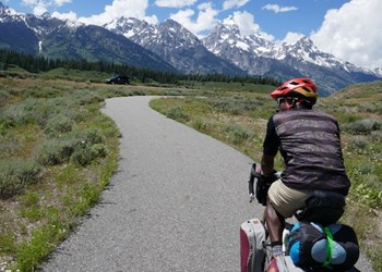 Rail Trail North Pathway in WY by Tim Young