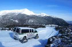 The SnowCoach experience on Mt. Washington