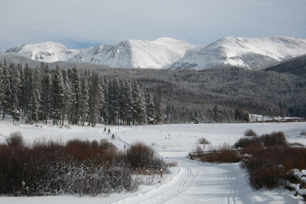 Winter wonderland at Devil's Thumb Ranch Resort