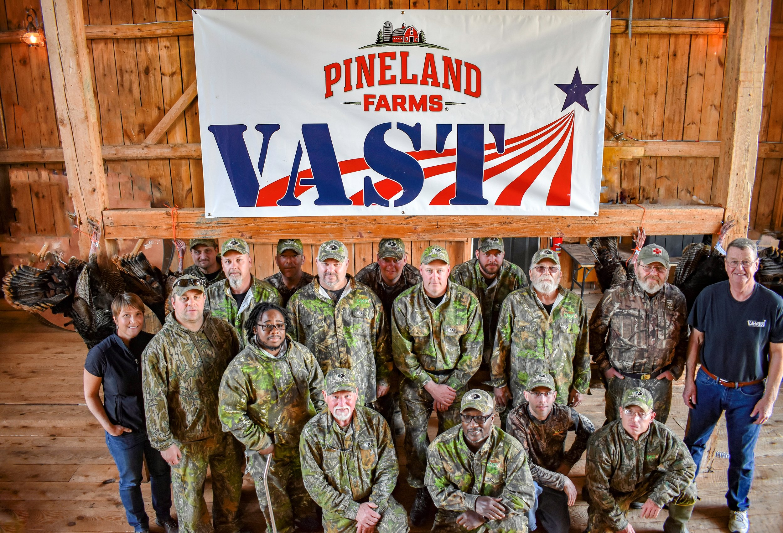 VAST recreational program for veterans at Pineland Farms. ME