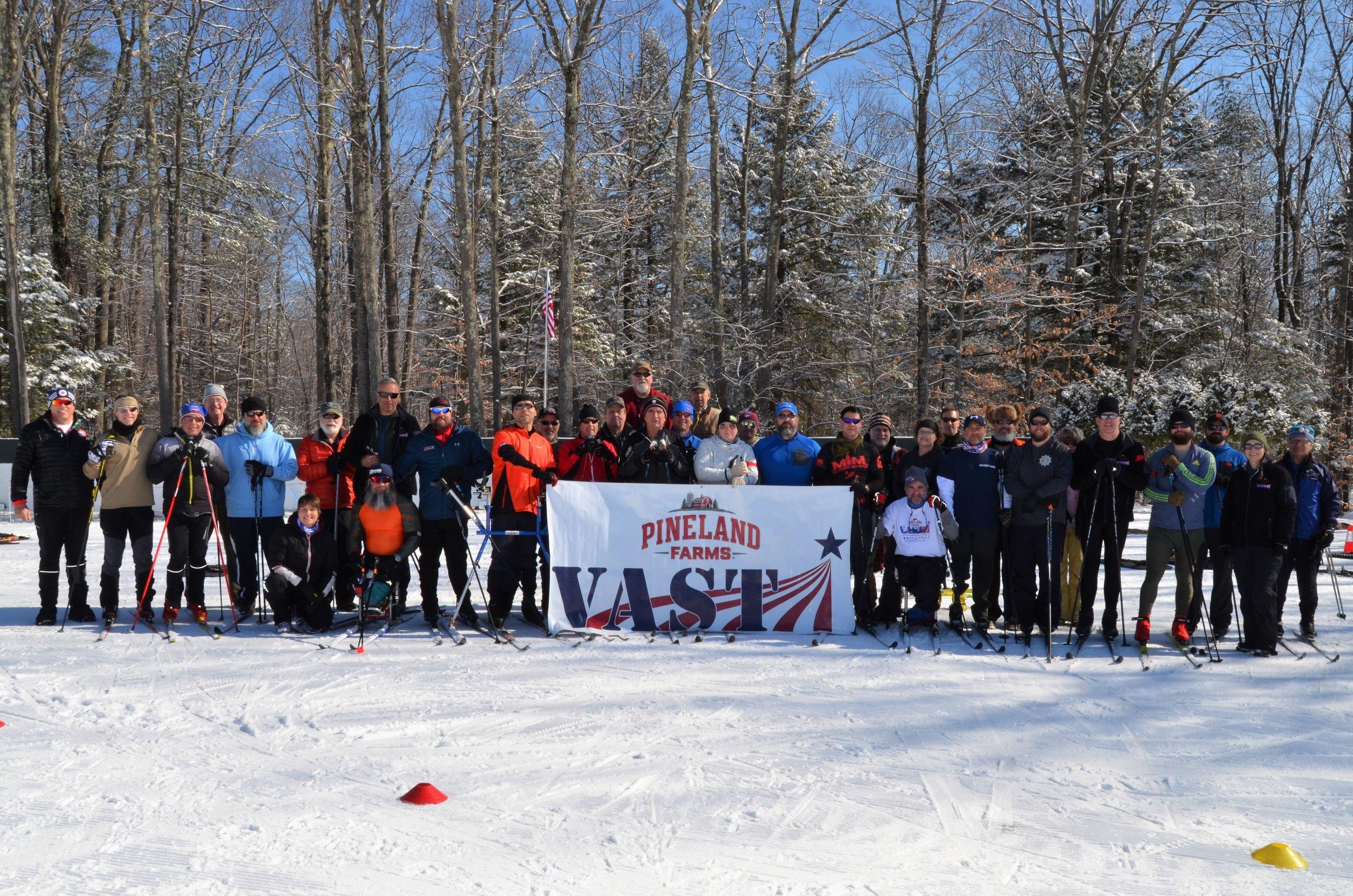 VAST Biathlon Camp at Pineland Farms