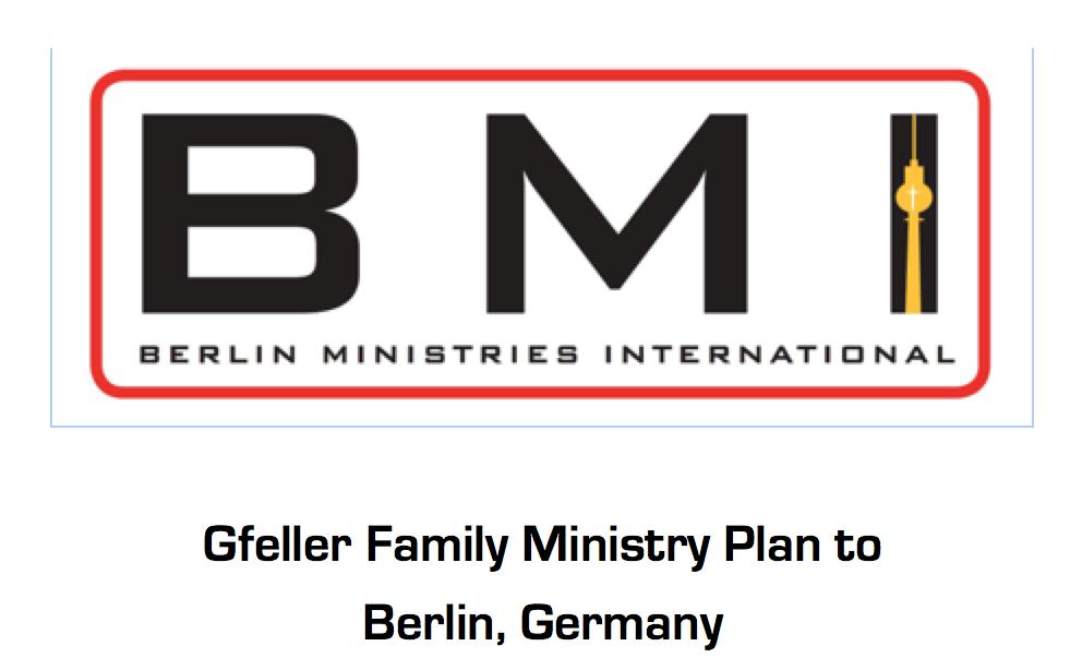 Ministry Plan