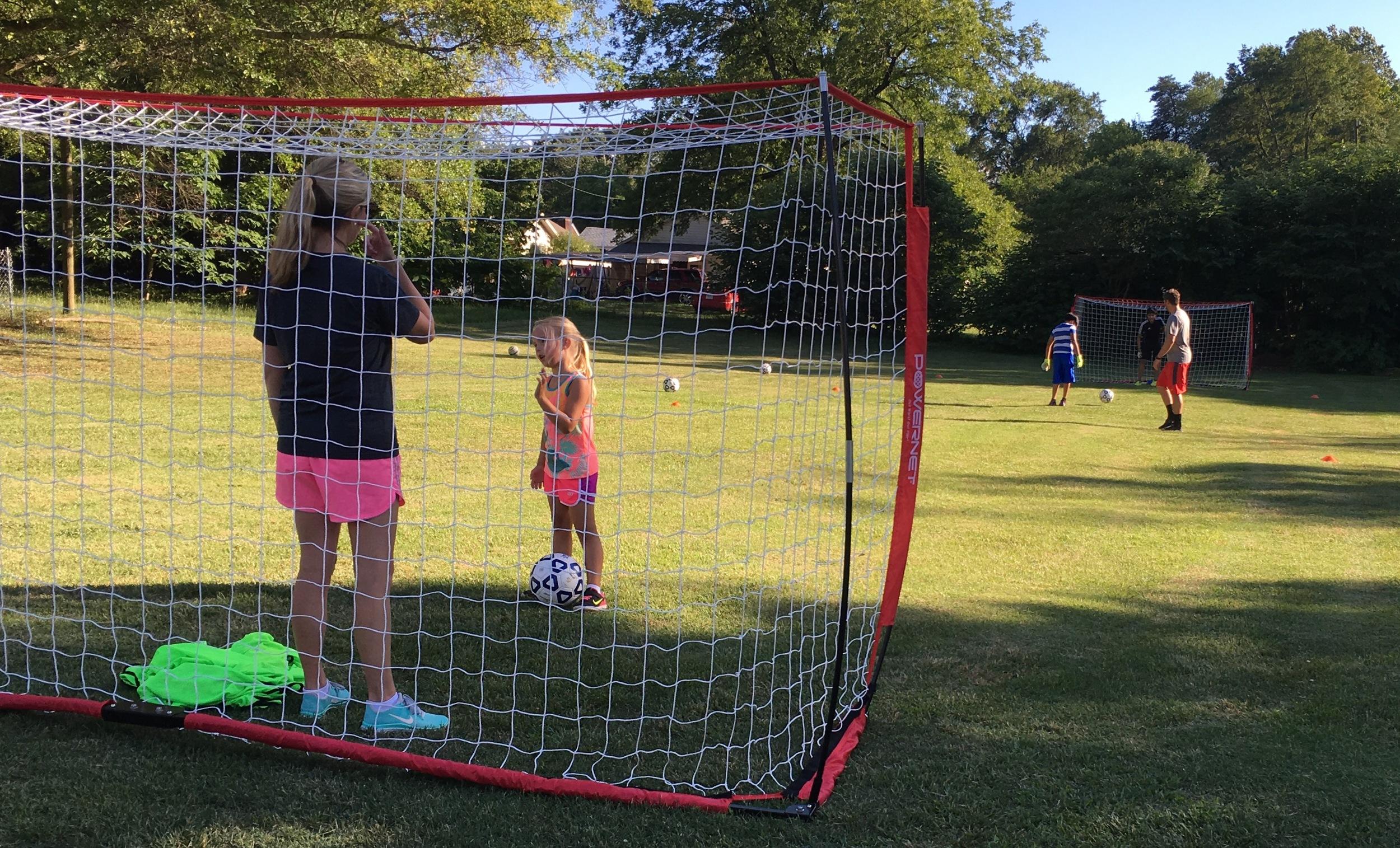 first summer soccer clinic