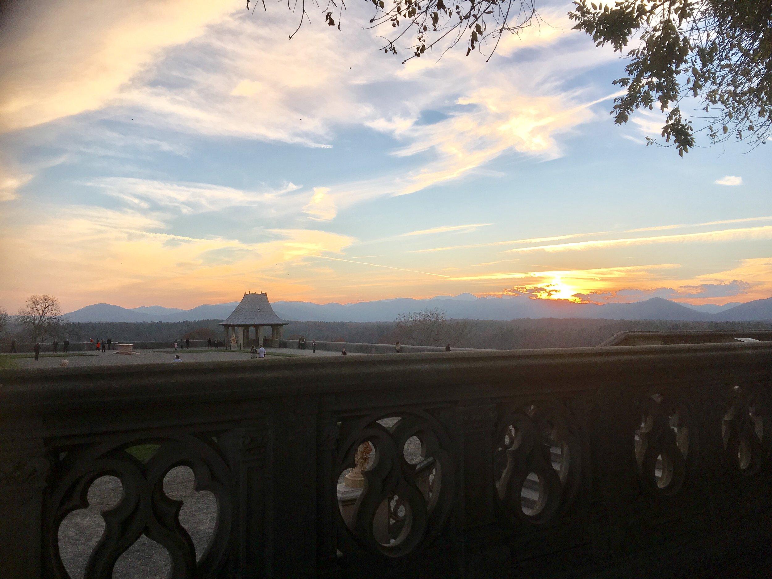 Sunset at Biltmore