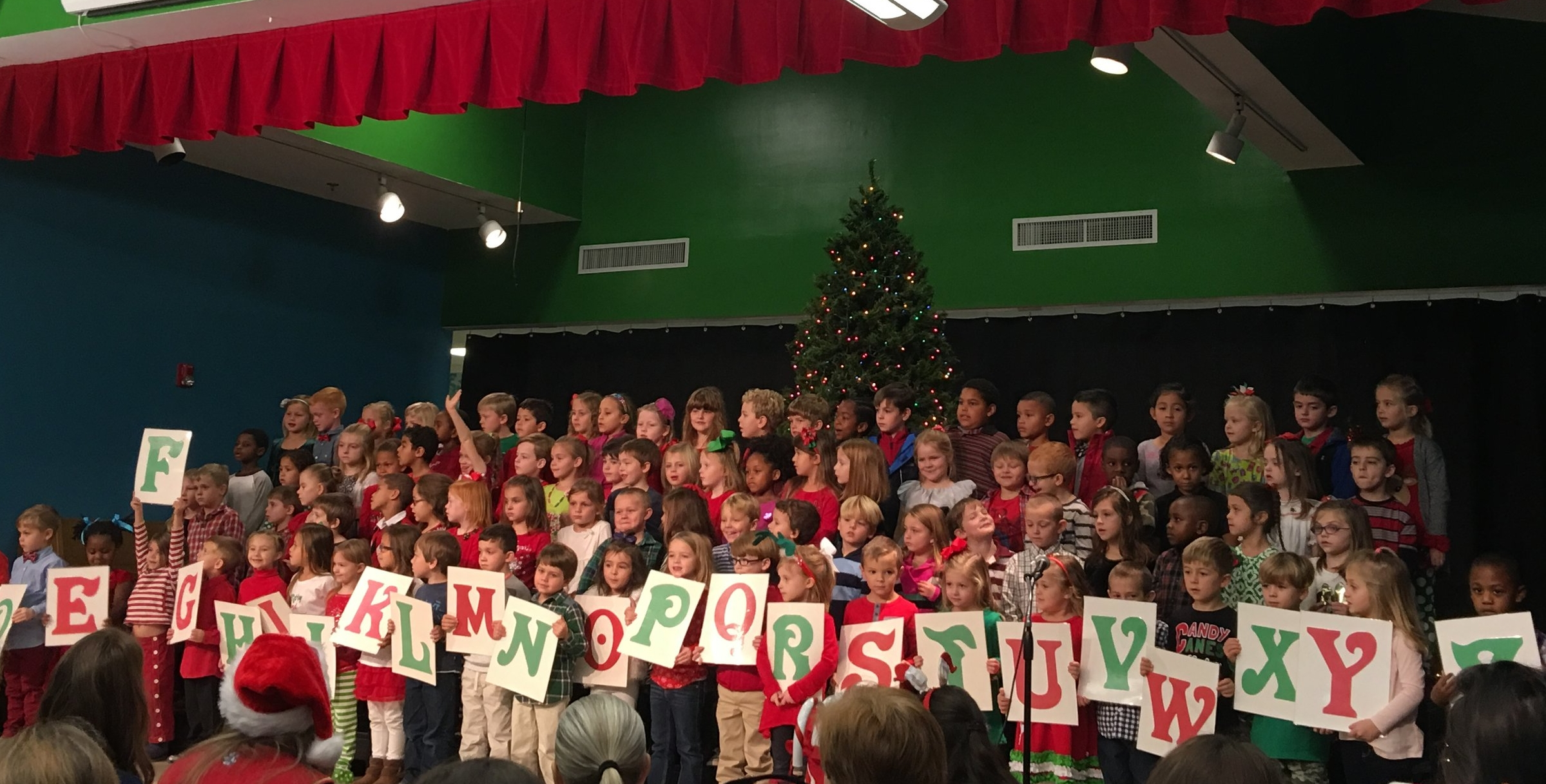 Quinn's Christmas program