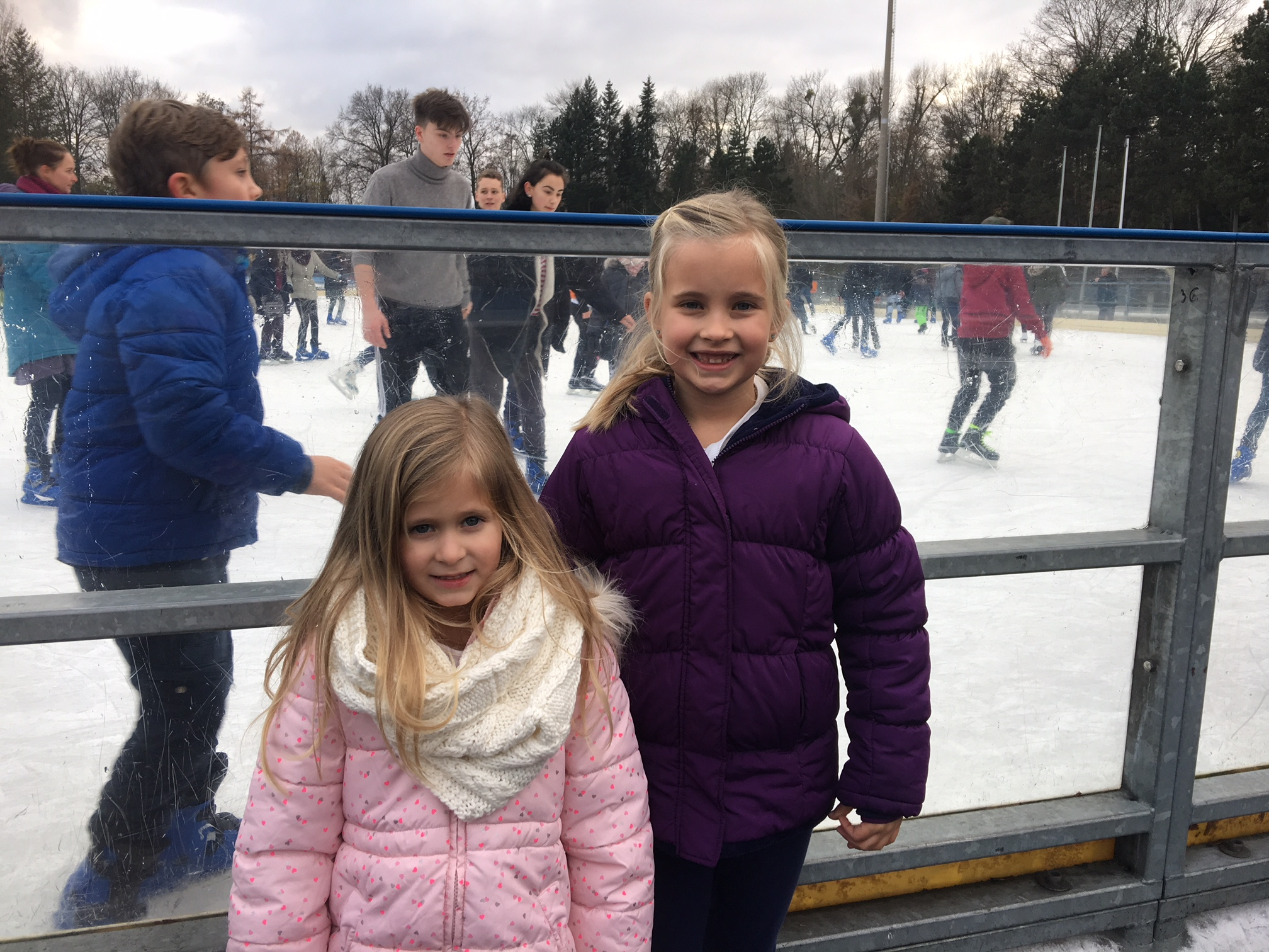 Ice Skating with the girls