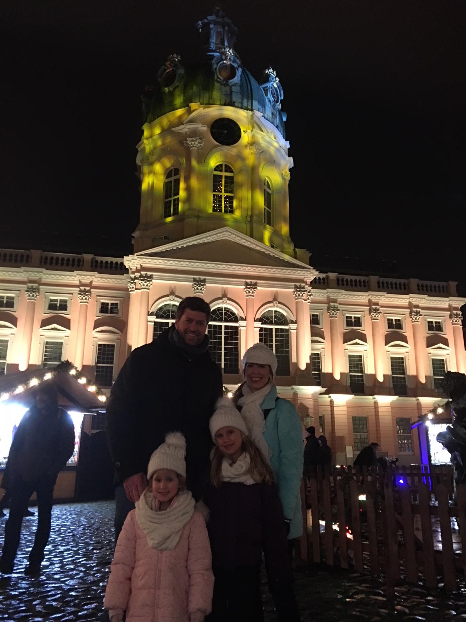 Christmas Market at the Palace