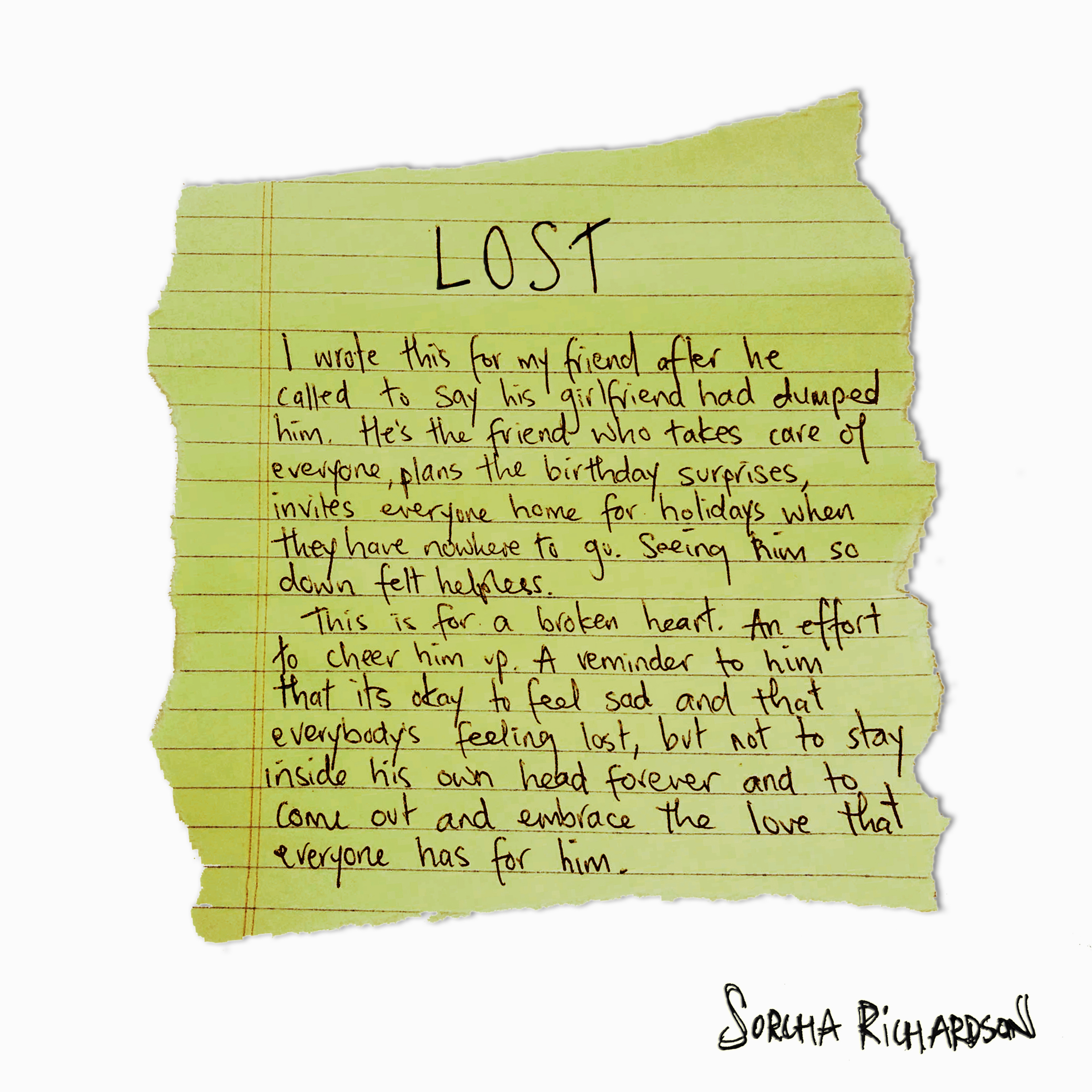 Lost - September 14, 2016