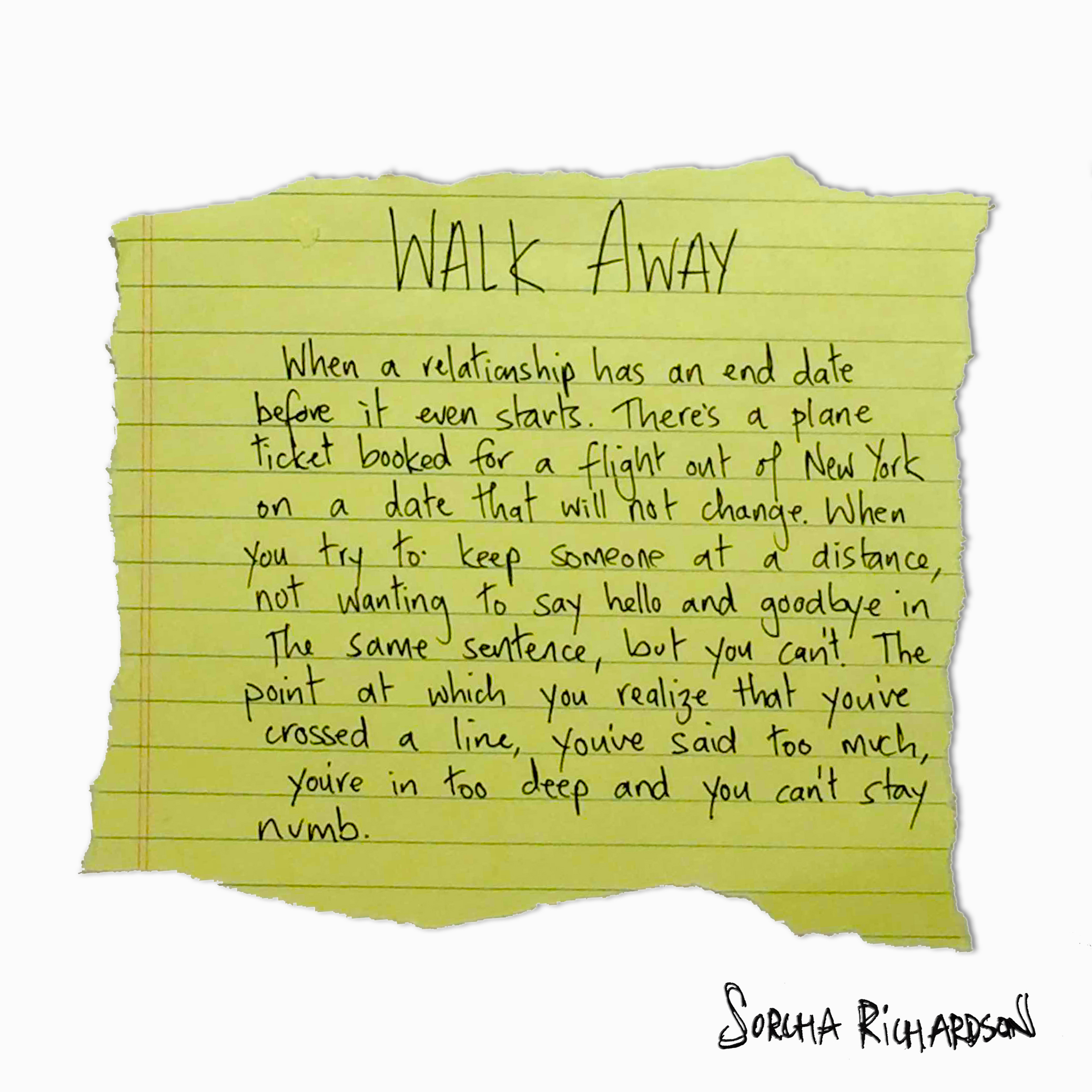 Walk Away - August 24, 2016