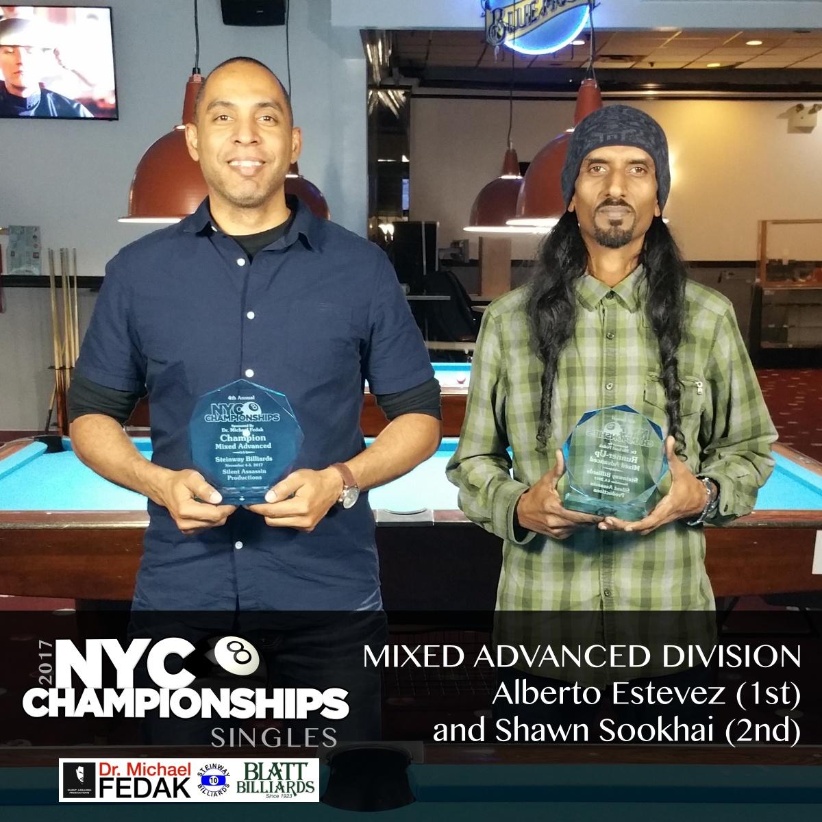 Mixed Advanced L-R 2nd Shawn Sookhai 1st Rick Miller