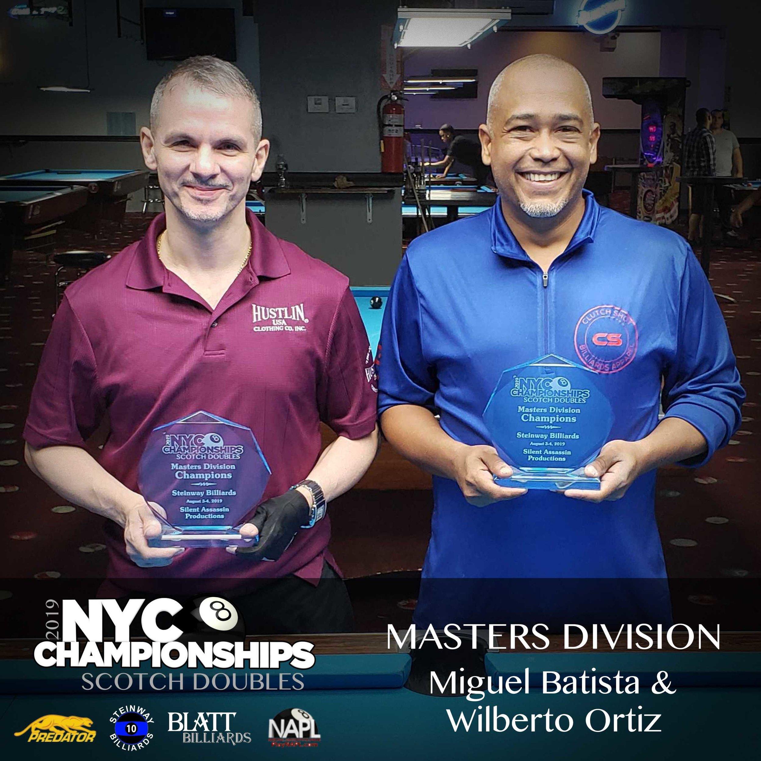 Masters: Jonathan Smith & Jeff Quintana