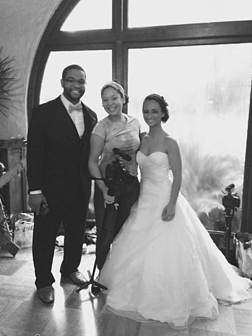 couple with kemari lyn films florida wedding videographer