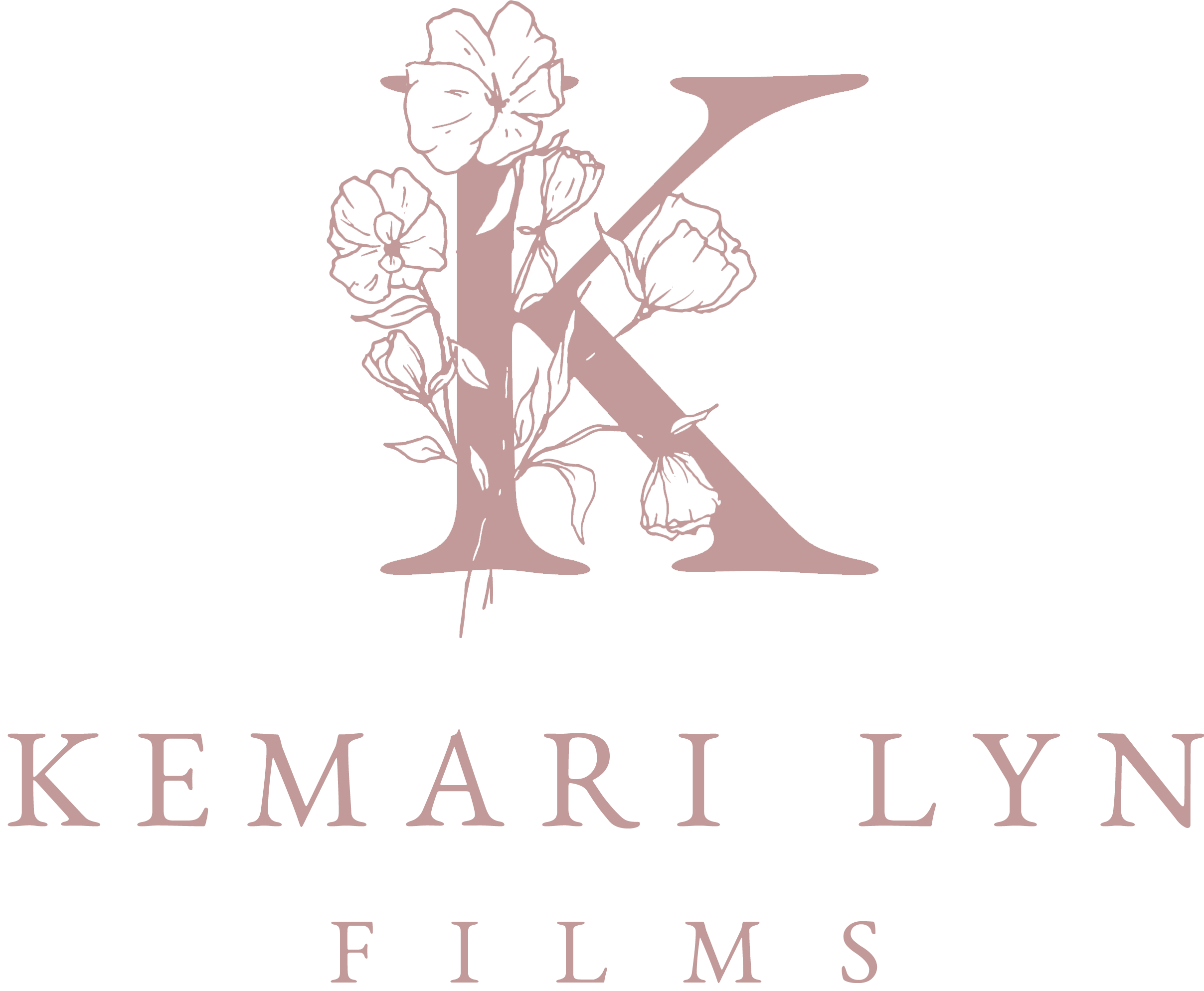 Our new logo! Tampa and Central Florida Wedding Videographer // Kemari Lyn Films