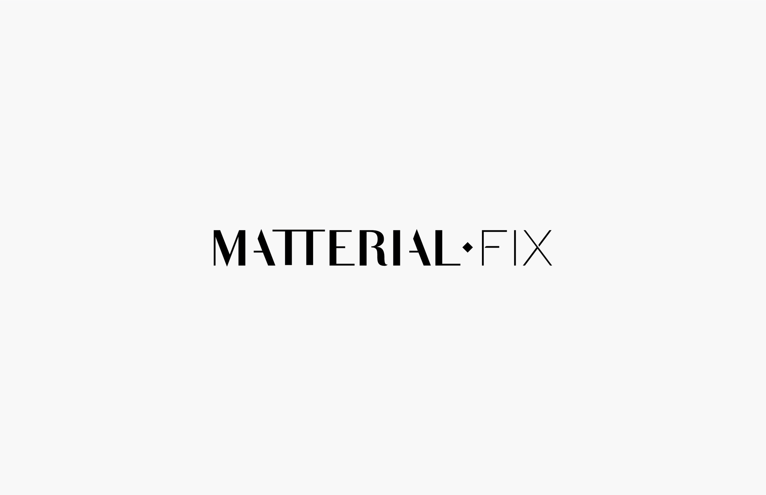 Logo White — Matterial Fix