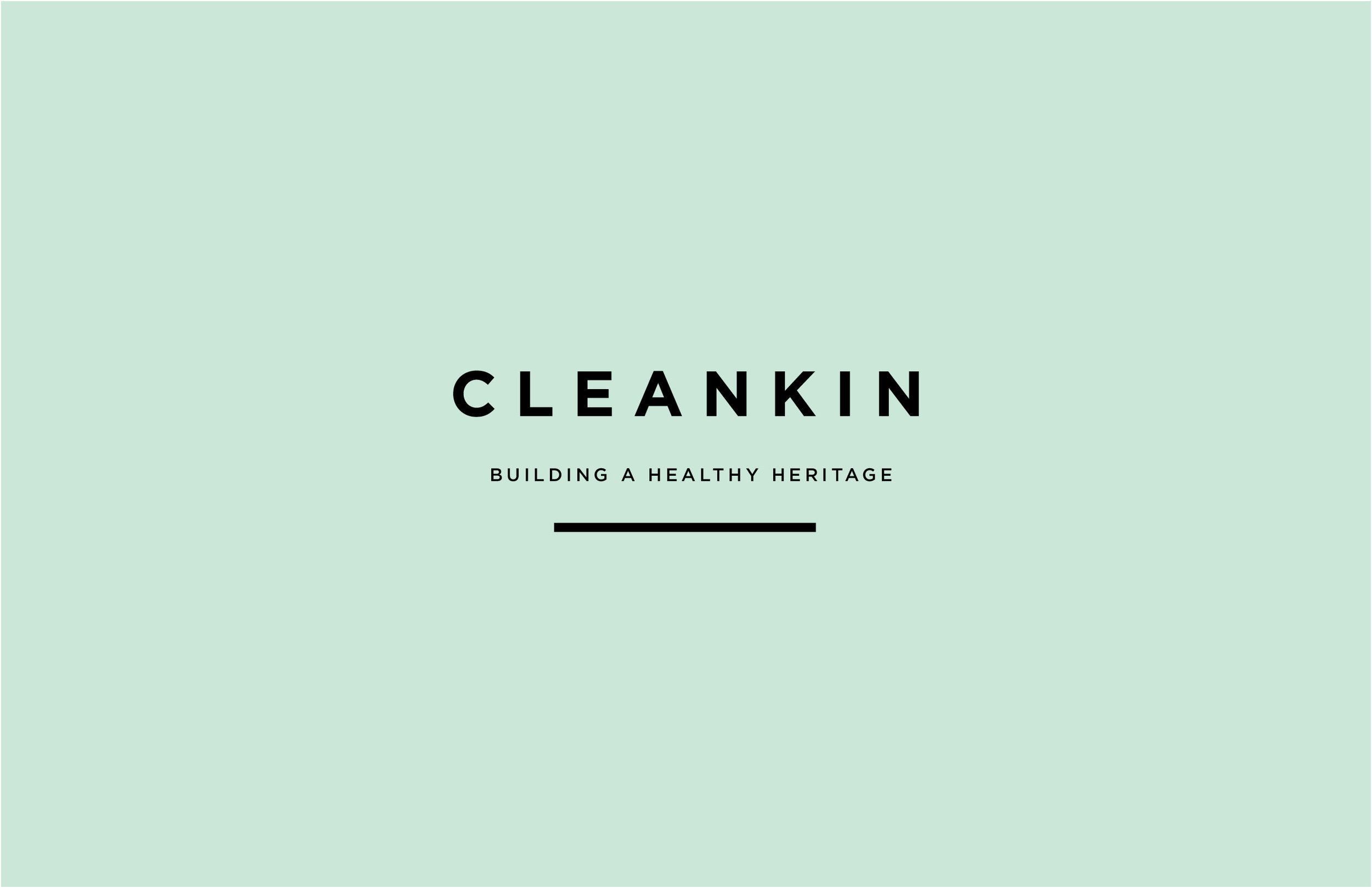 CleanKin Logo Design