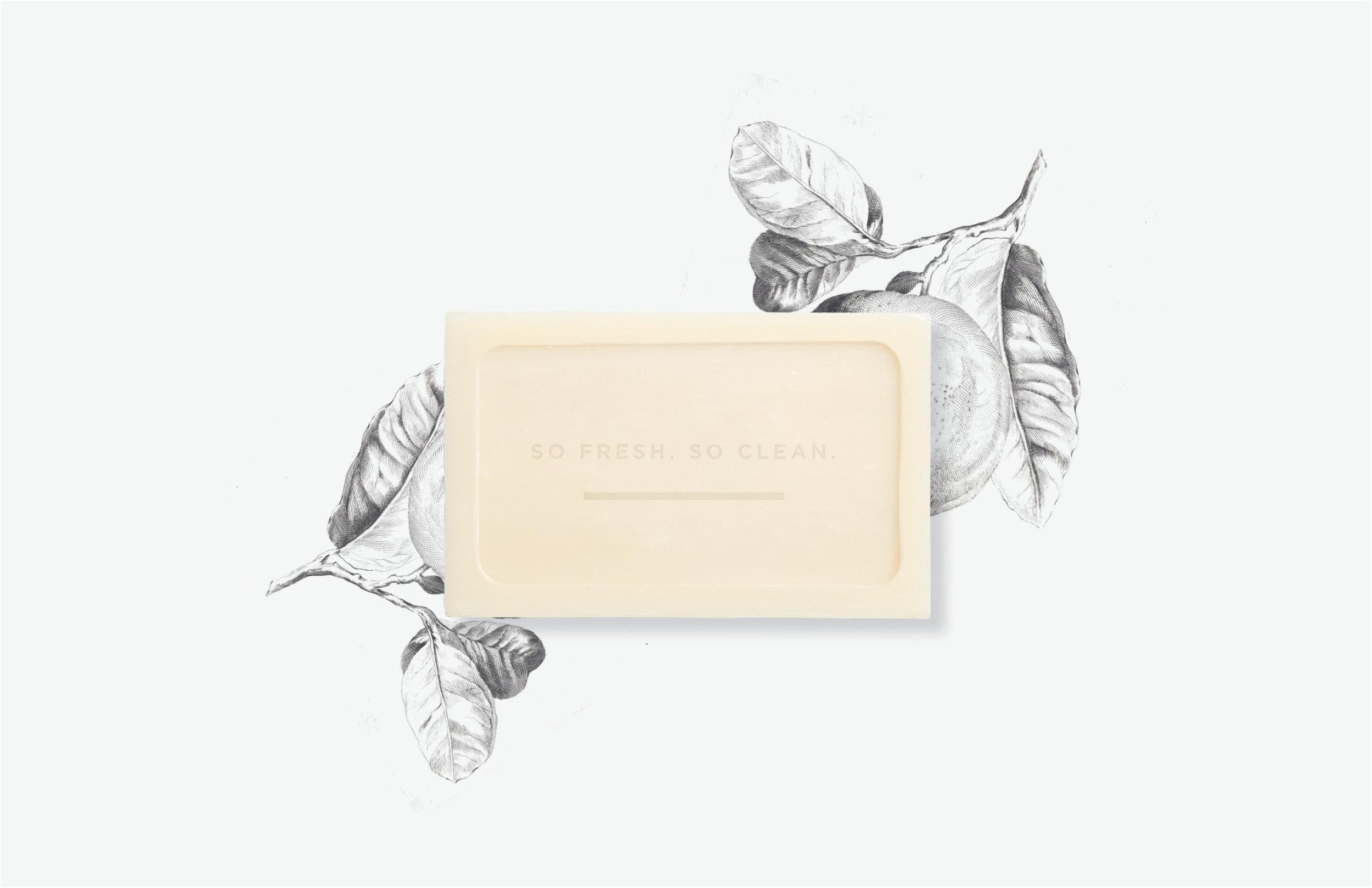 Soap graphic design