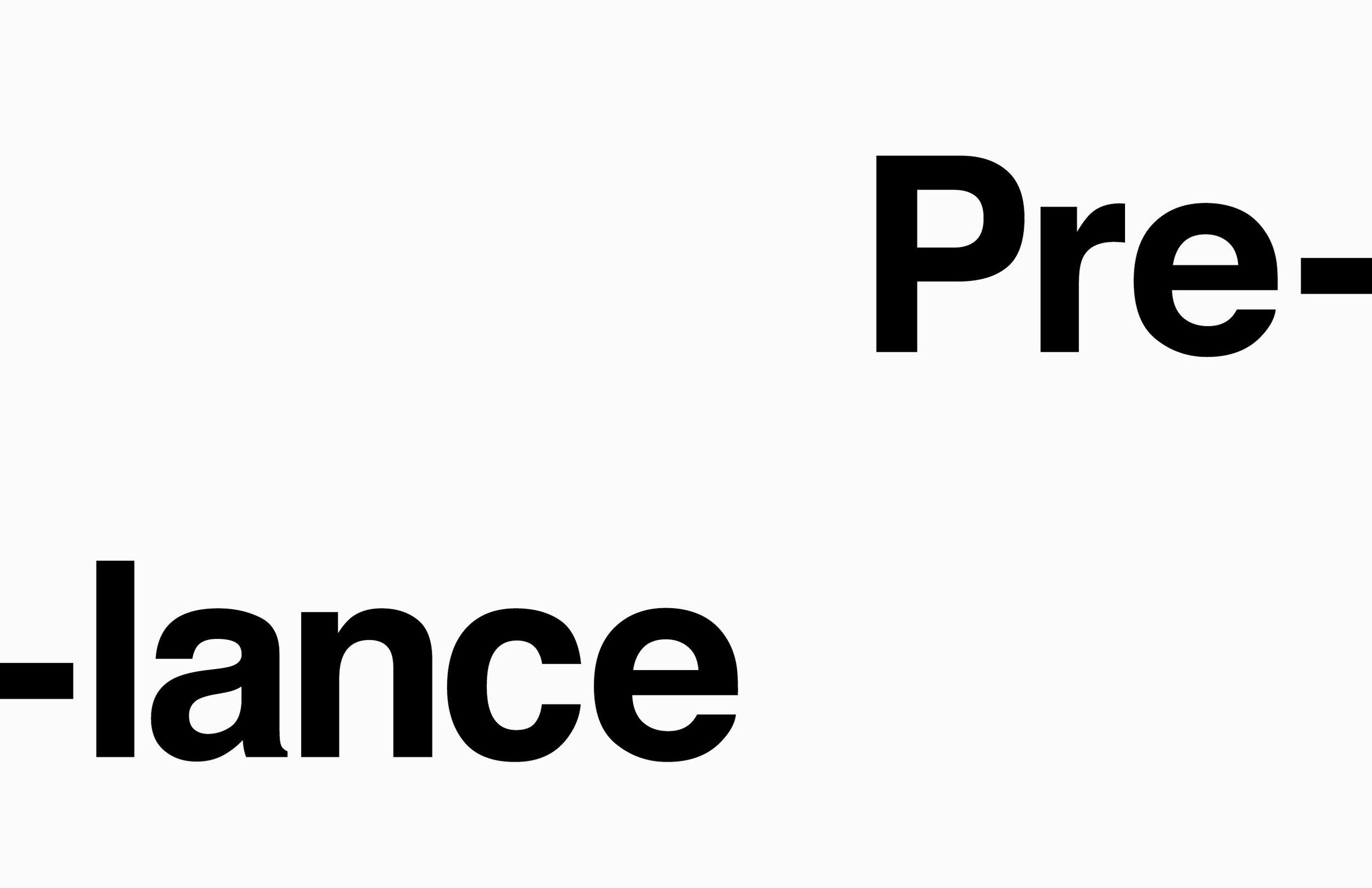 Logo design Pre-lance