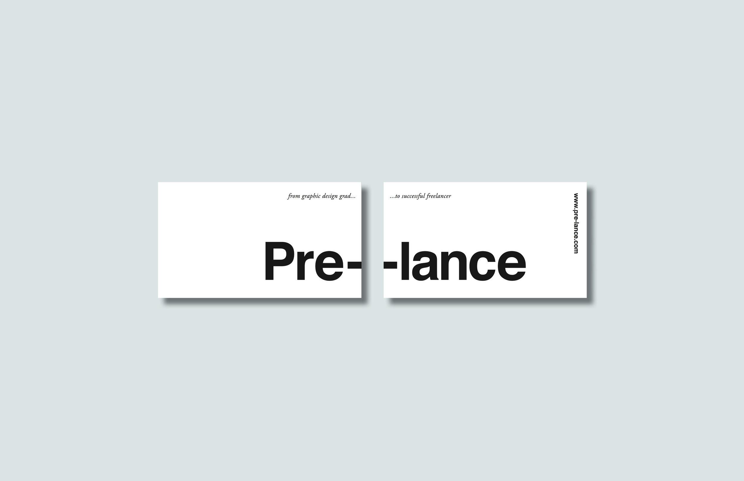 Business Card Design - Pre-lance
