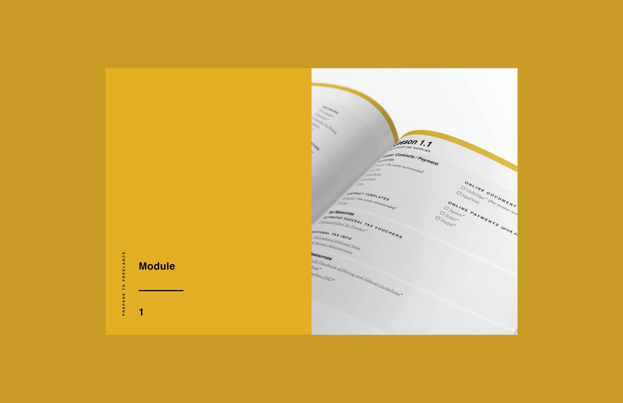 e-course workbook design 1