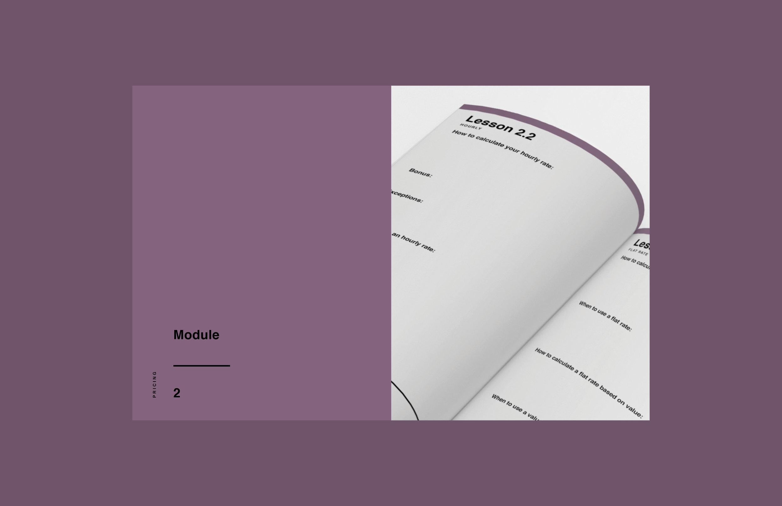 e-course workbook design 2