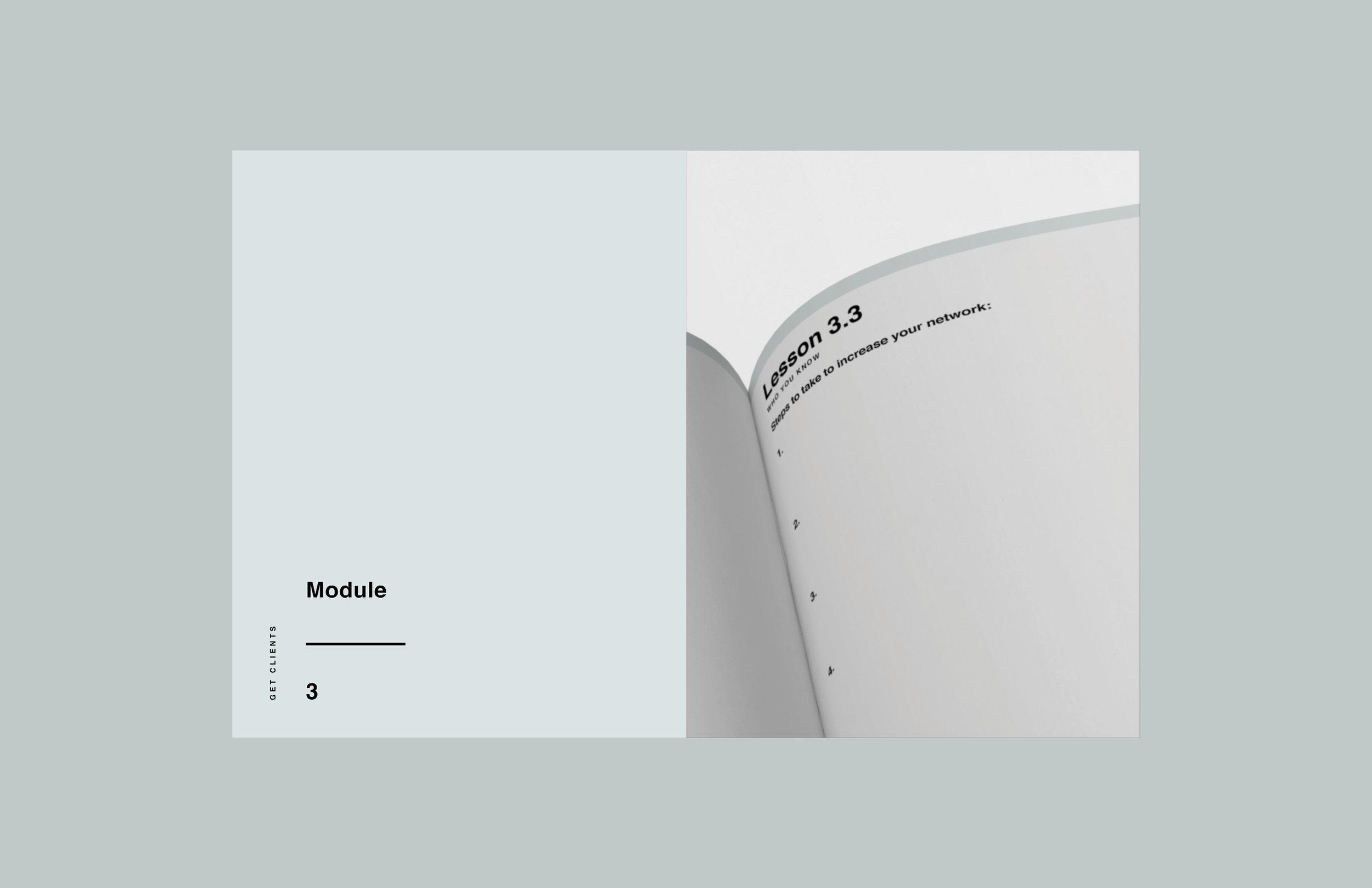 e-course workbook design 3