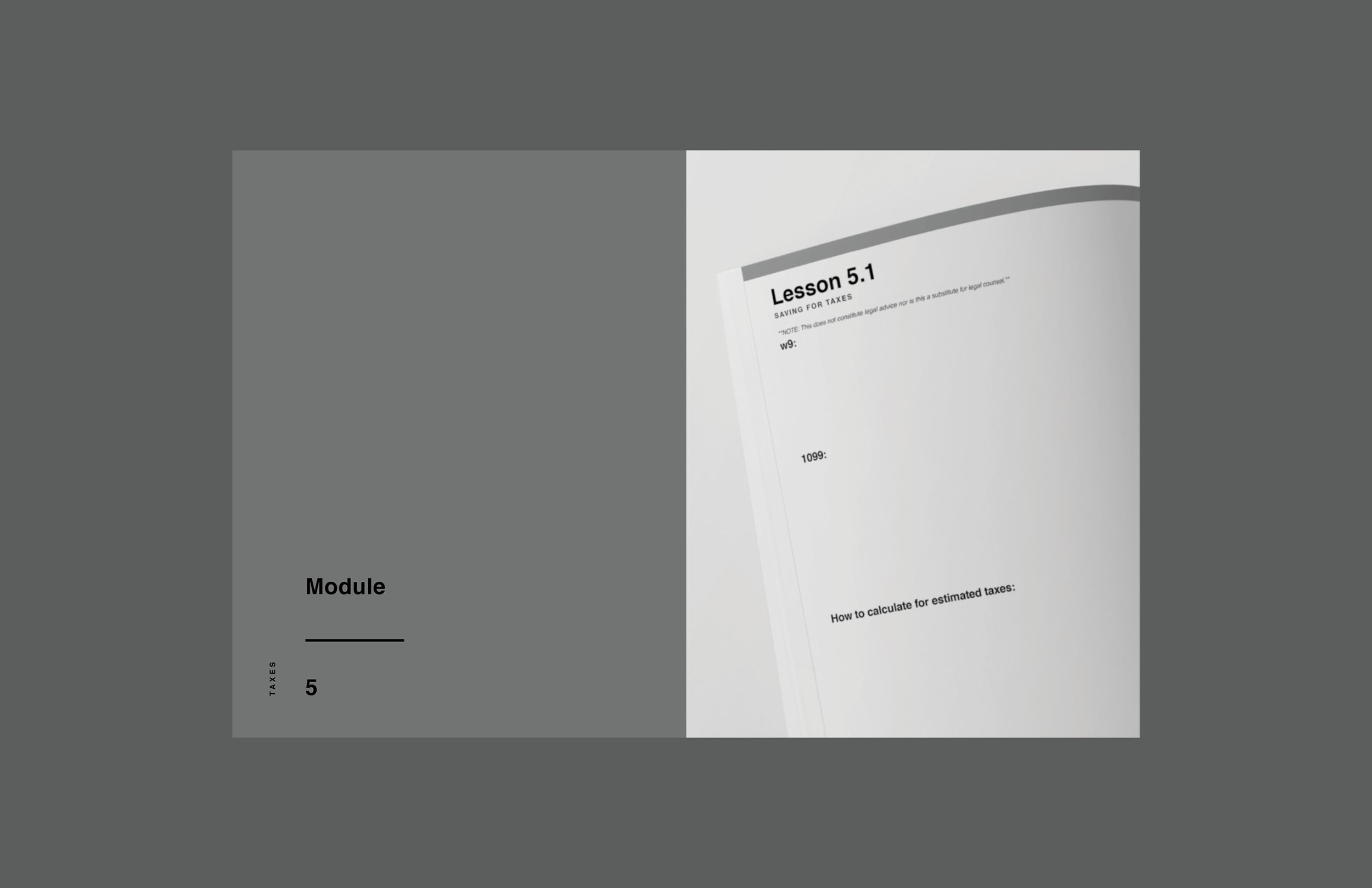 e-course workbook design 5