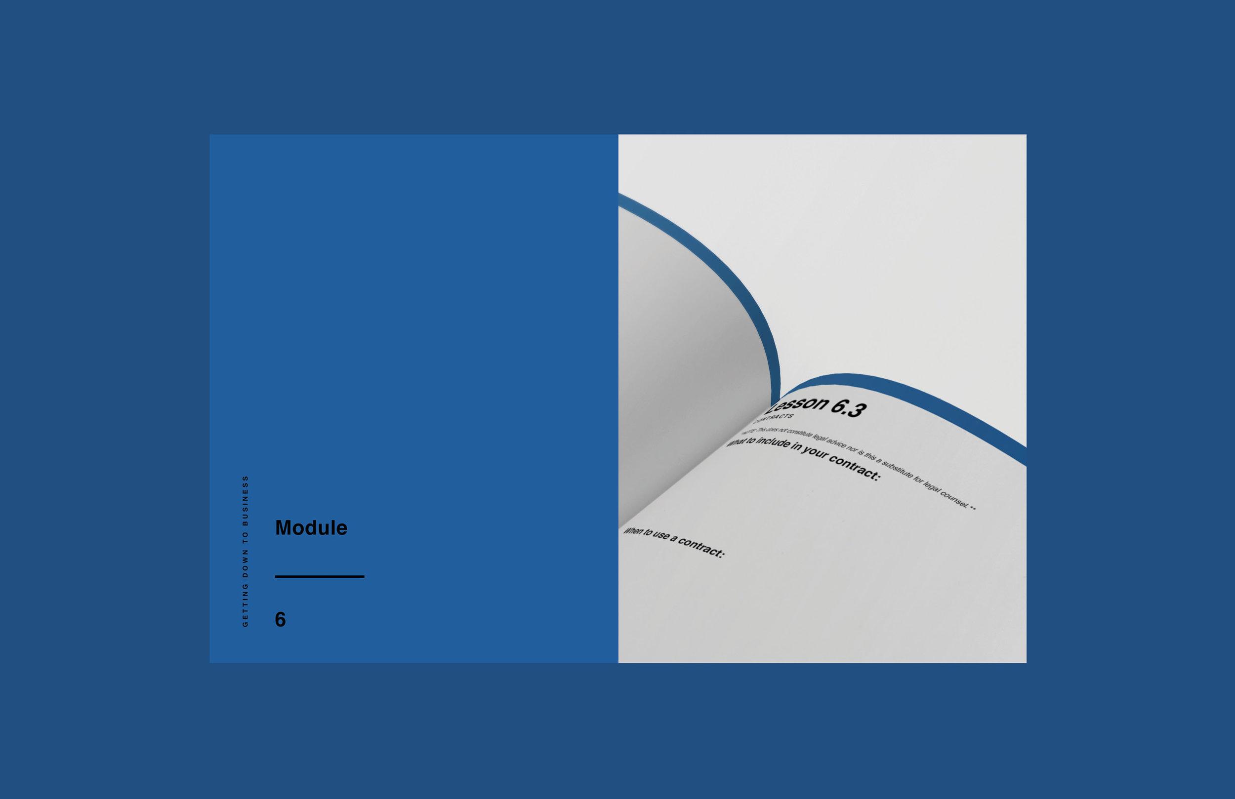 e-course workbook design 6