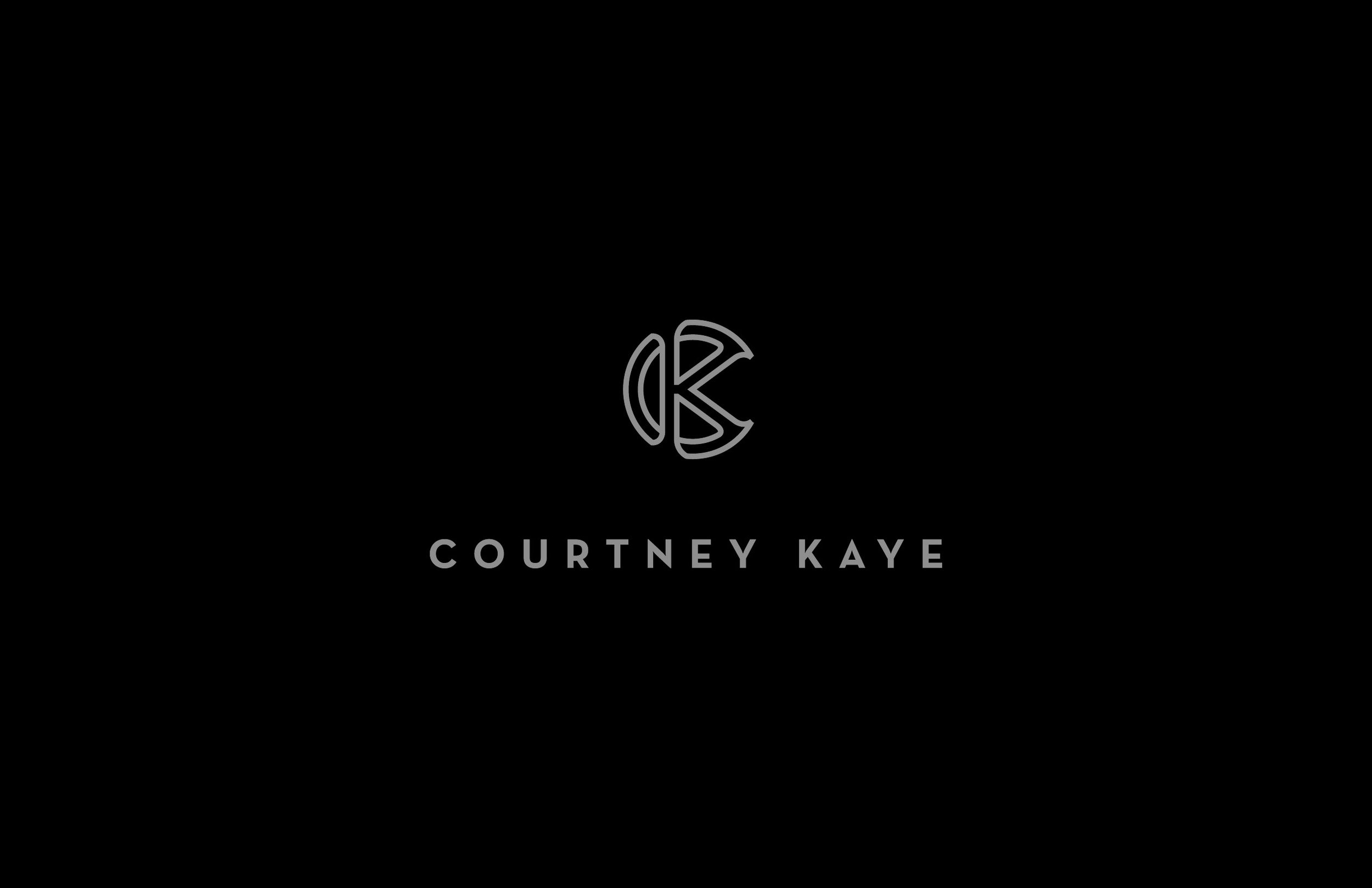 Logo design - Courtney Kaye