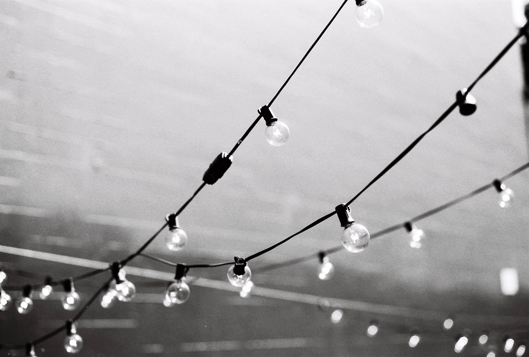 Rope Lights - Summicron 50mm f2 + Kodak Tmax 100