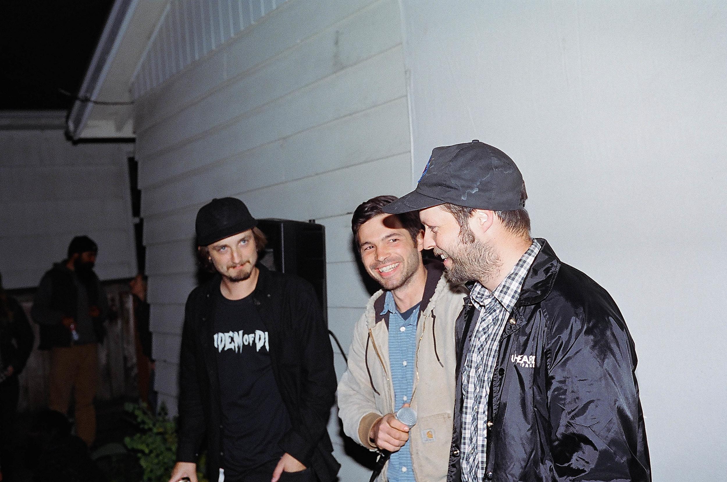 "Justin Shreeve, Frank Faria, and Johnny Turgesen - Pre Screen ""SPEECH!"""