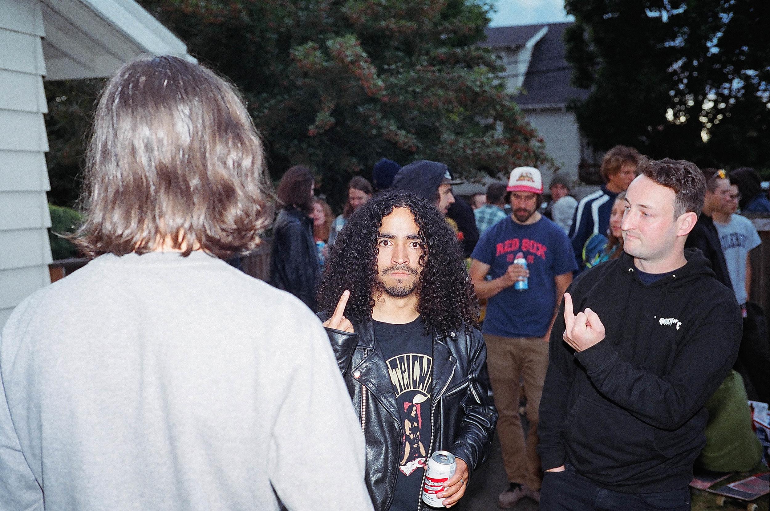 """Steven """"The Artist Formerly Known as Manchild"""" Reeves AKA Vegan Steve."""