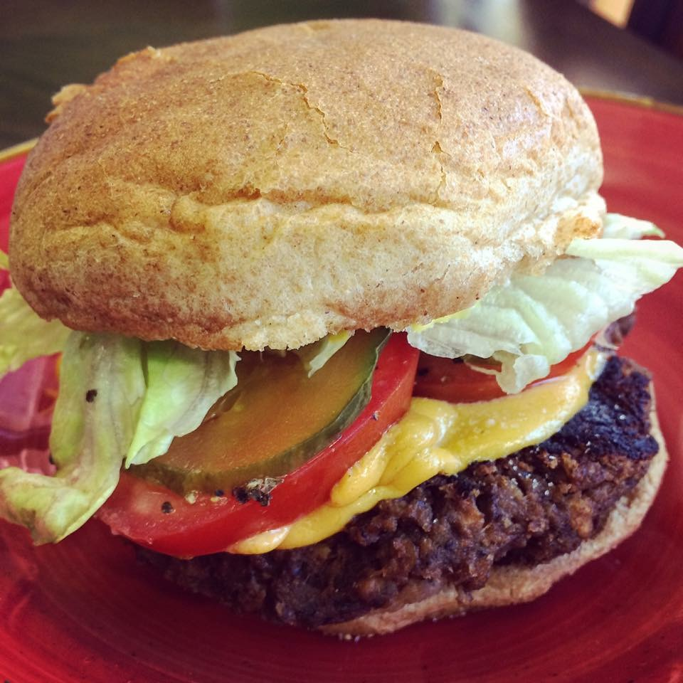 Island's Only All Vegan Cheeseburger