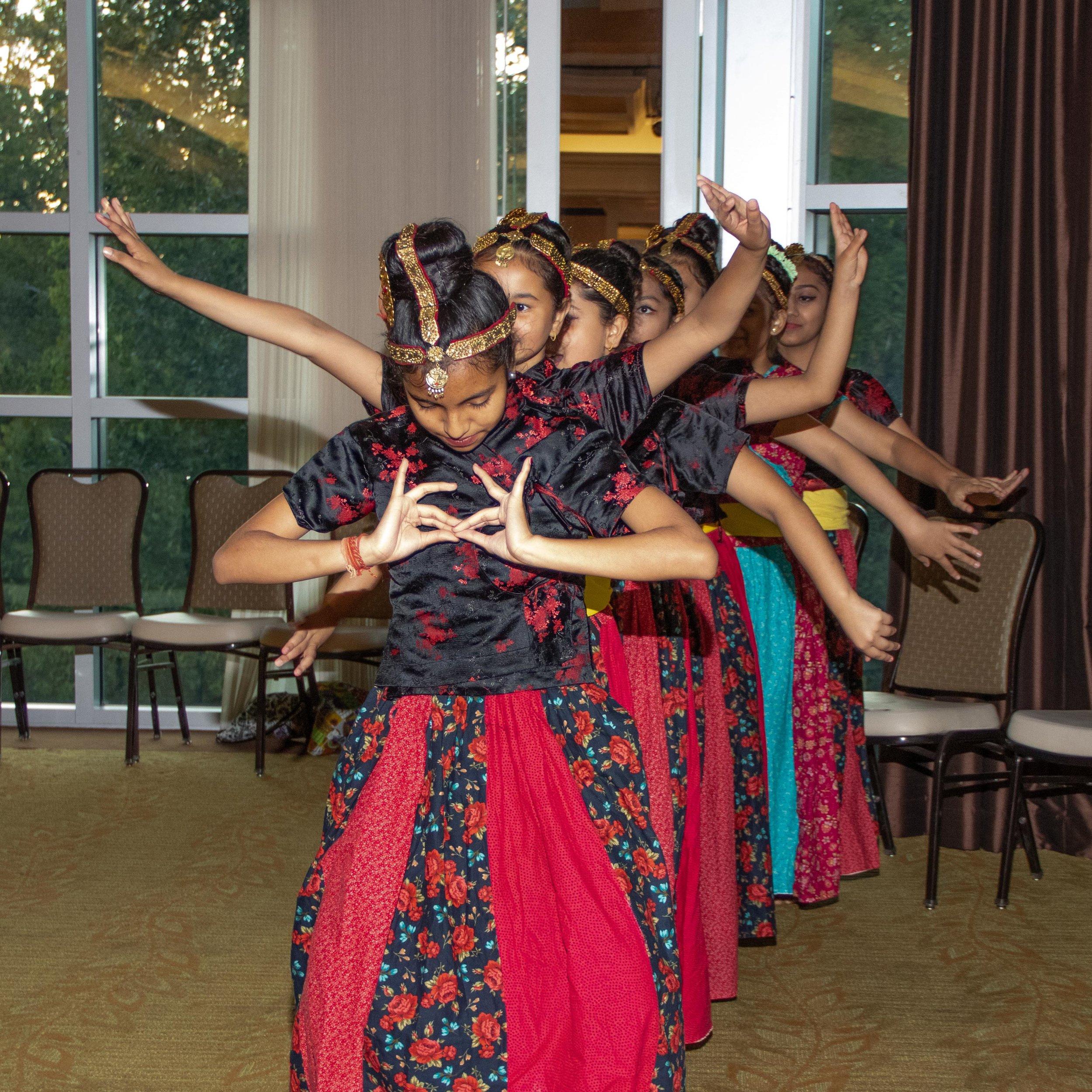 Nepali Dancers at the 2015 Cultural Kaleidoscope Gala