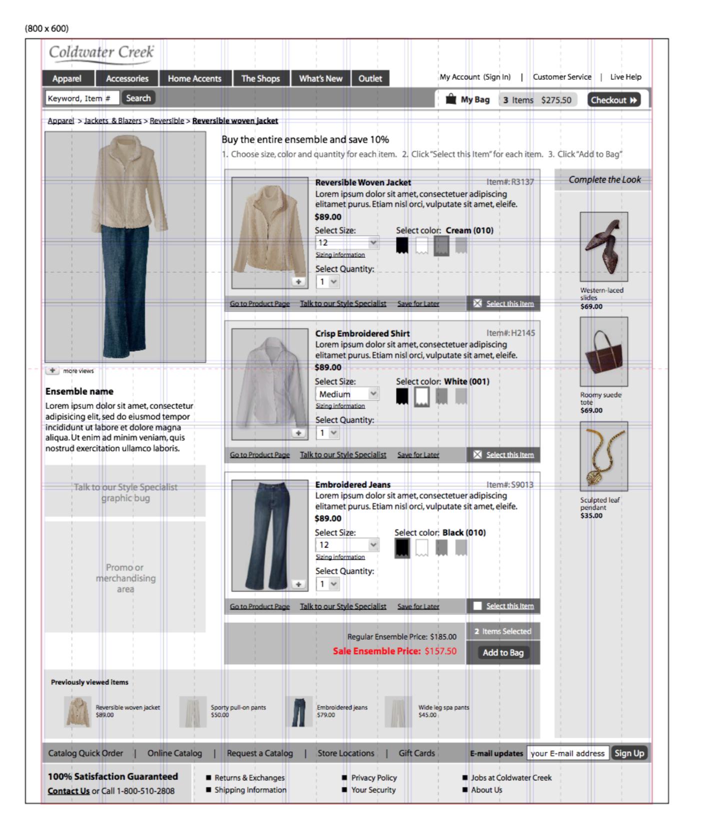 Ensemble Shopping