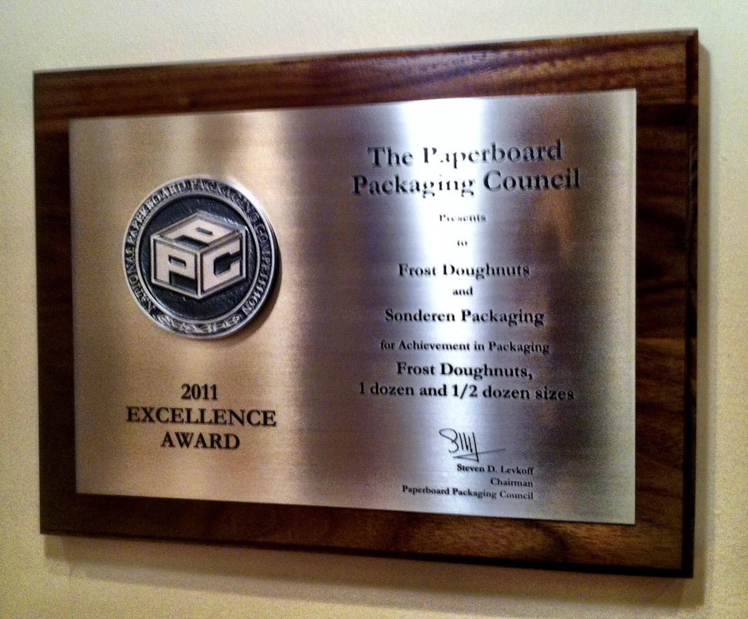 Packaging Award