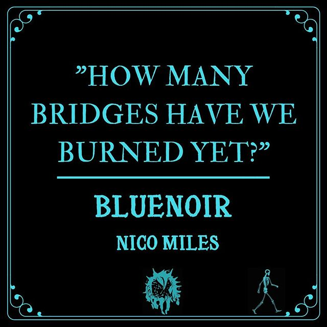 Happy Friday! Our drummer @nicomiles421 just released his first single off his solo project. Streaming everywhere now. #newmusic #newmusicfriday #bluenoir #nicomiles #rocknroll #losangeles #newyork #london #punk #spotify #applemusic