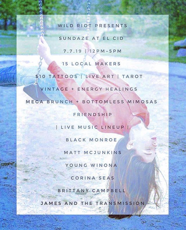 Los Angeles! Come rock with us @elcidsunset July 7th! @wearewildriot  is putting on a dope day filled with drinks, bands, and more. Let's celebrate the summer together. #rocknroll #livemusic #losangeles #jamesandthetransmission #elcidsunset #silverlakereservoir #sunsetjunction #hollywood