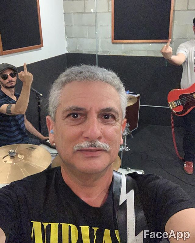 This shit is getting old  #nirvana #music #faceapp #rocknroll #jamesandthetransmission