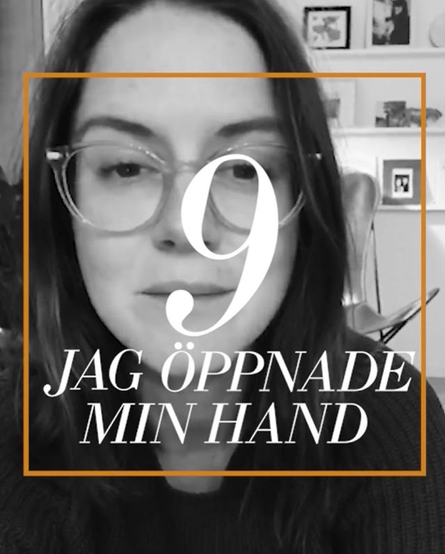 [Poem 9/27: I OPENED MY HAND/JAG ÖPPNADE MIN HAND] Read by Lotta in Stockholm  The first time I met Lotta, she came into the kitchen wearing a navy blue pantsuit, laughing at something or rather. It still seems to sum her up. She's inquisitive and fun and thoughtful and real and loves wholly without reservation. Her family were the only Swedes I met for a full year and a half of living in Germany and they'll always be special to me for that and what we've shared since then, too.  9/27: JAG ÖPPNADE MIN HAND breaks my heart too much in English to read too often but adds an element of beautiful in Swedish, which is why I chose to go with that instead. How strange the change from major to minor.  Message me if you'd like the translation- or wait until your book arrives, where it's written in both languages.  Part of the #27CyberSlam. Releasing a new reading/unveiling each of the poems featured in '27' at least once daily- alphabetically and sequentially.  New book '27' available now.  Order before October 31st to be included in the second print run. Link in profile ♥