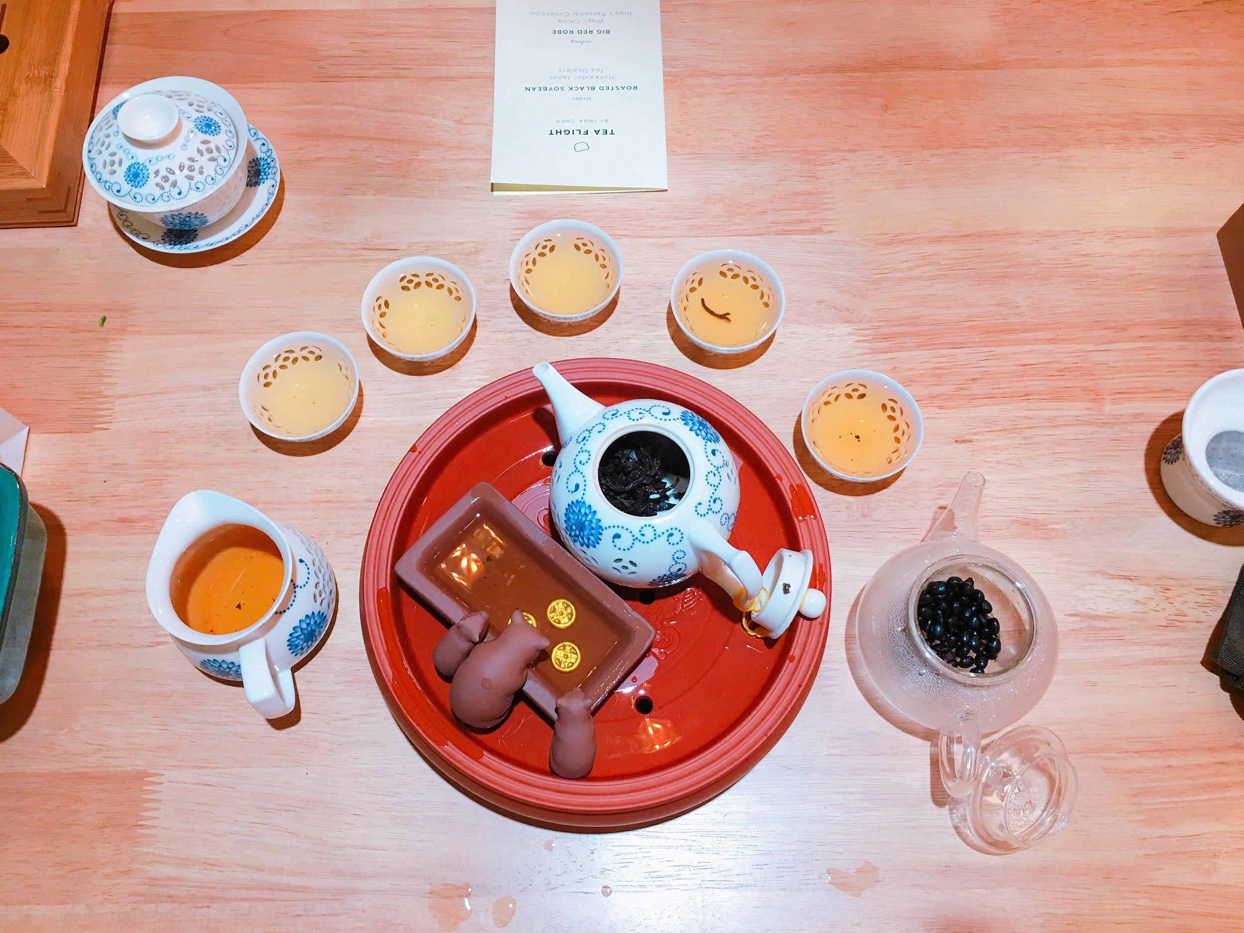 Tea Experience - April 2018