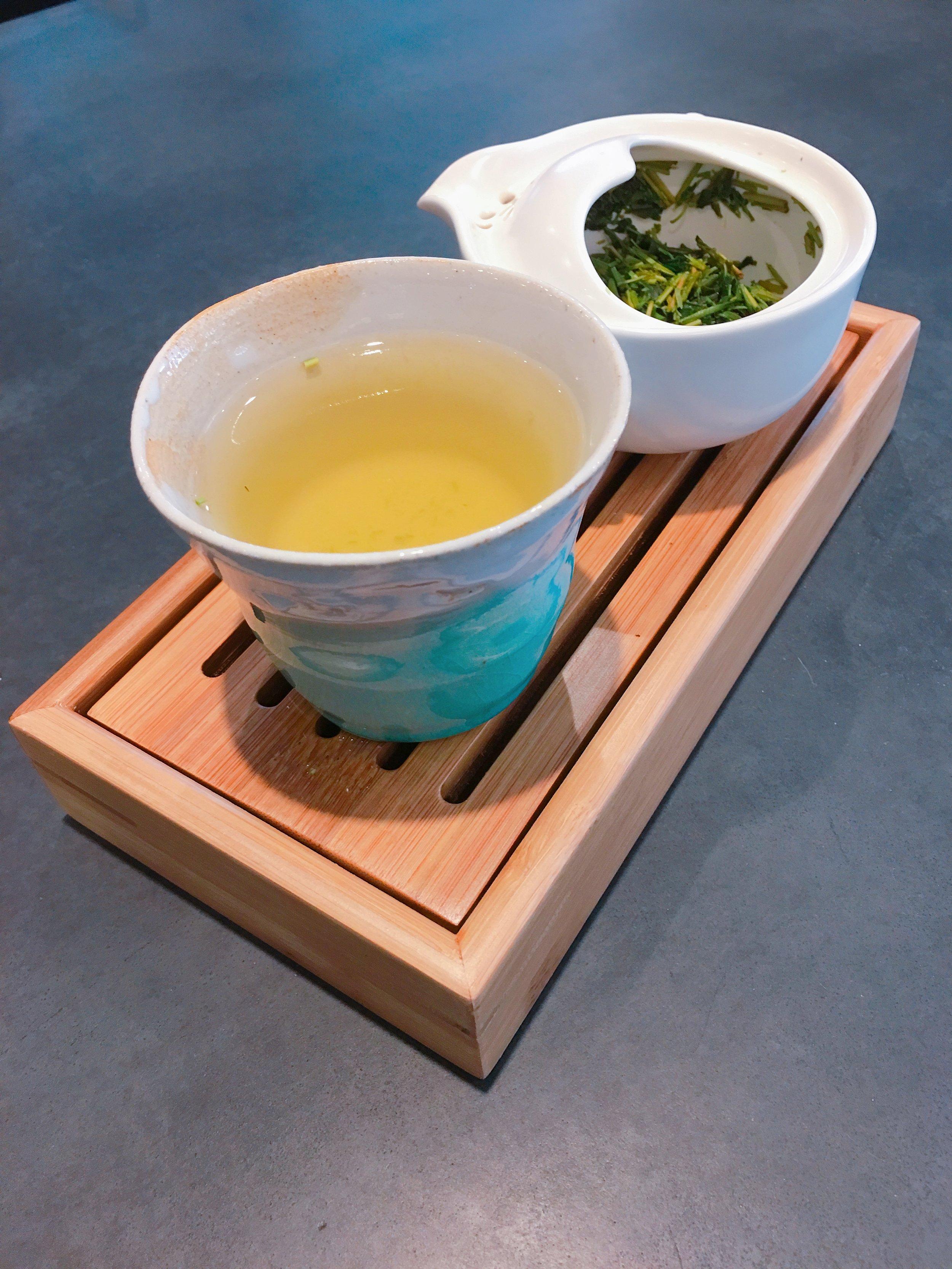 My tea setup at work