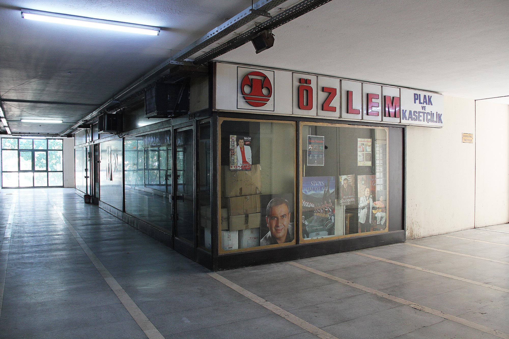 Record shops, İstanbul Manifaturacılar Çarşısi, Istanbul